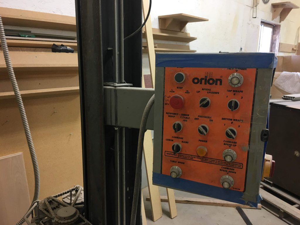 Orion Pallet Wrapper